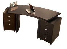 Sharelle Furnishings Bali Standard Desk Office Suite | AllModern