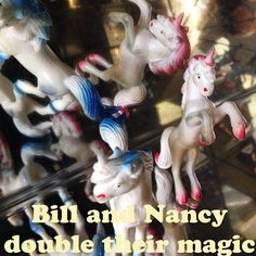 Bill and Nancy double their magic!