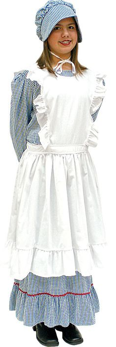 little house on the prairie aprons - Google Search