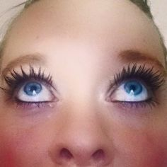 Who wants lashes like these everyday? #nofalsies