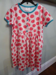 Baby & Toddler Clothing Hanna Andersson Girl's Pink Holiday Cat Pajamas Sz 60 New With Tags!