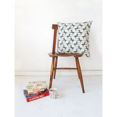 Cushion cover 40x40cm  Colts in teal by skinnylaminx on Etsy, $35.00