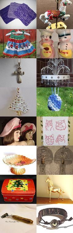 TeamVintageusa Lovely Gifts! by Cyndi DragonflyzDreams on Etsy--Pinned with TreasuryPin.com