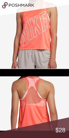 Nike ❣️cropped racer back running tank top ❣ NWT Nike cropped racerback  running tank top Nike Tops Tank Tops. Find this Pin and more ... 27debbe85