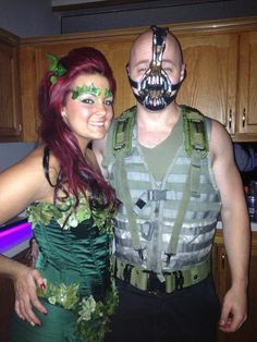 poison ivy and bane halloween - Halloween Costumes Bane