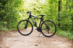 If you're not sure whether to buy a road bike or a mountain bike, get the best of both with a hybrid bike. We looked at the 10 best hybrid bikes under 300 to give you a lot of options to choose from. Mountain Biking, Hardtail Mountain Bike, Best Mountain Bikes, Forest Mountain, Misty Forest, Mountain Lion, Mountain Bicycle, Bmx Bikes, Road Bikes