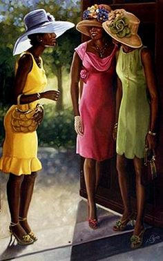 Second Service by Henry Battle   black art | black church - gma - 2