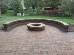 patio designs with fire pit sitting walls | Columbus Decks, Porches and Patios by Archadeck | A Columbus Online ...