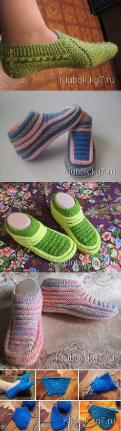 This Pin was discovered by Све Ssk In Knitting, Baby Hats Knitting, Knitting Socks, Crochet Quilt, Crochet Yarn, Crotchet Patterns, Knitting Patterns, Knitted Slippers, Knitted Hats