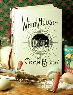 Meals fit for a First Lady. Presidential favorites have been compiled within this historic recipe book. 1887 edition. 590 pages, includes portraits of Martha Washington and Mrs. Lincoln, the White House Kitchen, Great State Dining Room and many fascinating aspects of culinary life. Wonderful gift for Thanksgiving hostess, teacher, chef, or your favorite history buff. Hard cover. 7 x 10. $29.00 #thanksgiving #hostessgift #chef #thanksgivingdinner #cookbook #whitehouse #dining #teachergift