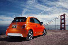 Fiat 500e Los Angeles #fiat500 #electric
