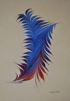 Marbled paper/ ebru by Artpiste Artpiste- Nurhayat Polat. peri (22)