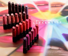 MAC Liptensity Collection MAC Liptensity ($21.00 for 0.12 oz.) is a new, limited edition lipstick available in 24 shades. The formula is supposed to delive