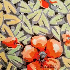 """Raoul Dufy """"#fleurs & feuillages"""" 1920 aquarelle & gouache sur papier collection particulière #détail.  #Expo """"#Dufy #tissus & créations"""" (3/10) #musée des #beauxarts de #Carcassonne  #aude #audetourisme #jaimelaude #LanguedocRoussillon #sud #suddefrance #southfrance #igersfrance #ig_france #exhibition #museum #exposition #tissu #fleur  #RaoulDufy #flower #flowers #instaflowerlovers #instaflower"""