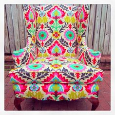 Charmant Bright Coloured Chair