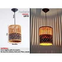 Luminárias Artesanais , Lustre Pendente L8116