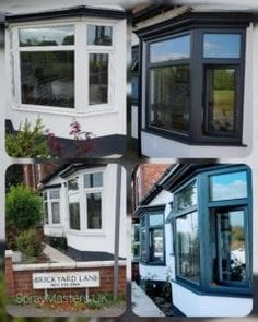 Upvc Bifold Doors, Upvc Patio Doors, Upvc Sash Windows, Windows And Doors, Painting Upvc Windows, Anthracite Grey Windows, Kitchen Respray, Window Glass Replacement, Painted Window Frames