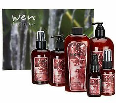 Help someone you love achieve beautifully nourished hair and skin with this ultimate collection of WEN! #QVCgifts