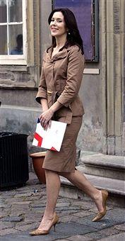 Crown Princess Mary Of Denmark Attends A 'Danish Fashion In North America' Seminar