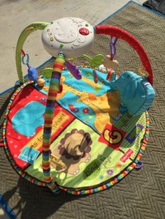 Fisher price baby gyms and playmats thank me later - Tapis d eveil fisher price zoo deluxe ...