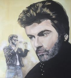 George Michael - Painting by Grant Netherlands contact Grant email: gnetherlands1@gmail.com Michaels Paint, George Michael, Netherlands, Fine Art, Painting, Fictional Characters, The Nederlands, The Netherlands, Painting Art