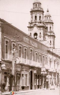 Fotos de Morelia, Michoacán, México: Hotel Valencia y torres e la Catedral