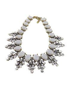 CZ Diamond Embellishment Alloy Short Necklace