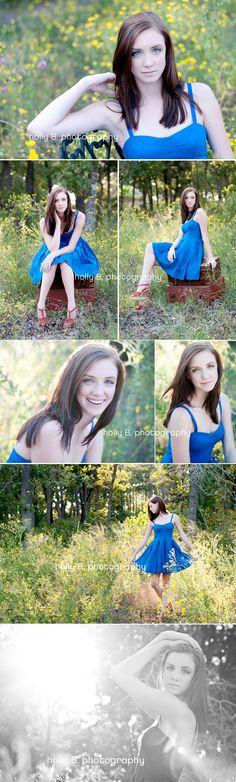 austin senior portrait photographer, senior portraits, holly B. photography, senior posing, senior girl posing, nature senior portraits