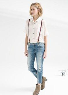 Skinny zippy jeans - Jeans for Women | MANGO
