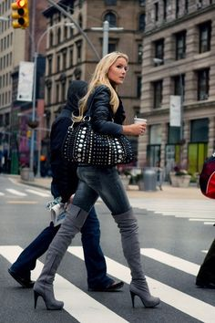 The Simply Luxurious Life®: Style Inspiration: Leopard, Chanel and Fall Attire