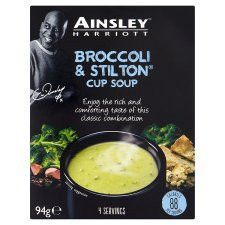 Ainsley Harriott Broccoli&Stilton Soup 94g