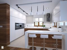 """Different Ways to Paint Kitchen Cabinets New Kitchen Cabinets Color Ideas New Kuchnia Zdj""""â""""¢cie Od Am butor Minimalist kitchen cabinet simple kitchen design ideas… Small Rustic Kitchens, Rustic Kitchen Design, Home Decor Kitchen, Interior Design Kitchen, New Kitchen, Awesome Kitchen, Kitchen Modern, Kitchen Ideas, Space Kitchen"""
