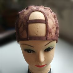 """2""""*4"""" U Part Wig Cap For Making Wigs Left/Centre/Right Parting With Adjustable Strap Glueless Weaving Cap"""