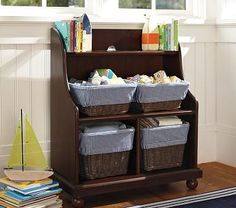 PB Kids Catalina Console Bookcase. Anything from PB is expensive, though $199.99