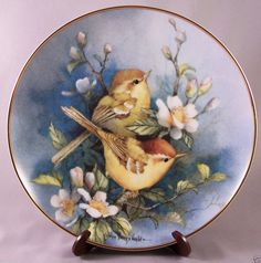 Franklin Mint Decorative Plate Melody in Bloom