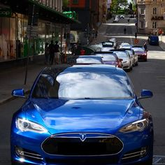 20 Model S owners from Tesla Club Sweden taking over the streets of Stockholm. #Tesla #ModelS #cars #Sweden #Stockholm #street #F4F #followback#cars #vehicles