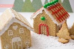 Cómo hacer casitas de jengibre , Cómo hacer casitas de jengibre paso a paso. Receta y plantillas para hacer estos postres de Navidad clásicos. Casa de jengibre, cómo se hace.
