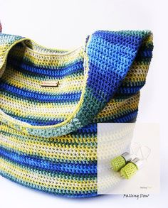 Crochet Bag FREE EARRINGS / Crochet Purse Crochet by FallingDew