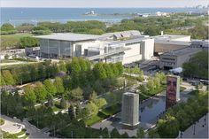 Renzo Piano design at the Art Institute of Chicago