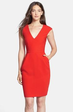 Clove Woven Sheath Dress (Nordstrom Exclusive) available at #Nordstrom