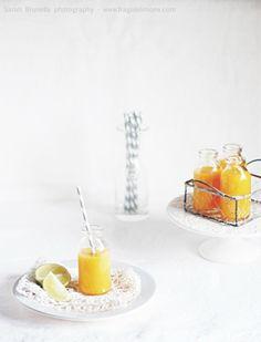 Succo al mango ed acqua di cocco (senza zucchero) - Sarah Brunella photography