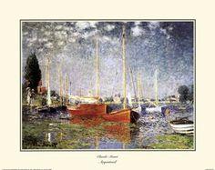 """Title: Argenteuil  Artist: Claude Monet  Type: Fine-Art Print  Paper Size: 20"""" x 16"""
