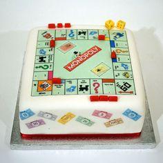www.facebook.com/cakecoachonline - sharing ...43 Monopoli novelty cakes