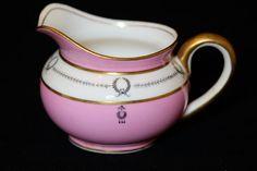 Antique Pink Aynsley Cream Bowl Art Deco Pink by TeaAtTheBrits