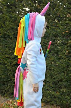 Einhorn-Kostüm für Fasching oder Kindergeburtstag