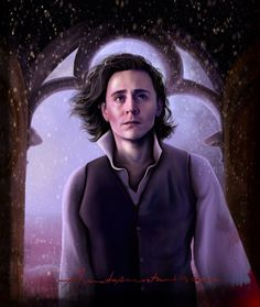 Thomas Sharpe as portrayed by Tom Hiddleston in the upcoming movie, Crimson Peak