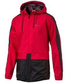 Men'S Stormcell Windbreaker, Red