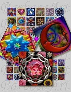 Unique Ornaments for Scrapbooking and More by barbosaart for $3.99