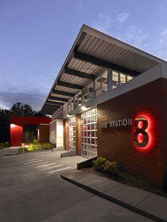 Fire Station 8 | Wannemacher Jensen Architects | Archinect