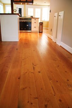 White pine floors with tung oil